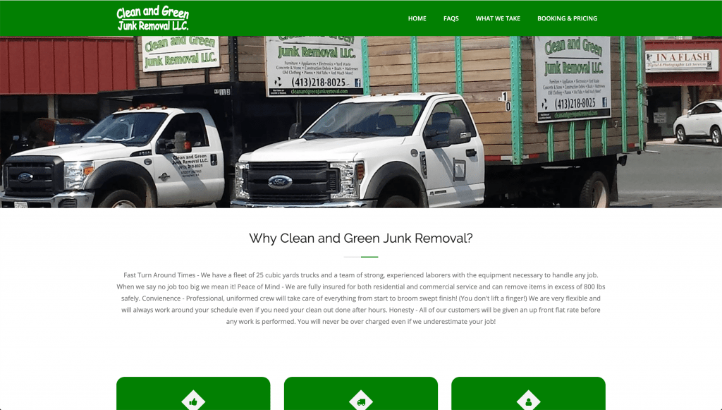 Clean and Green Junk Removal