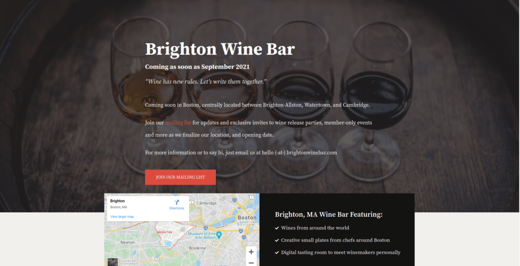 Brighton Wine Bar